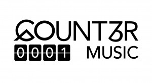 Counter Music Logo White