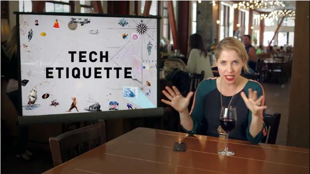 Tech Etiquette Clip