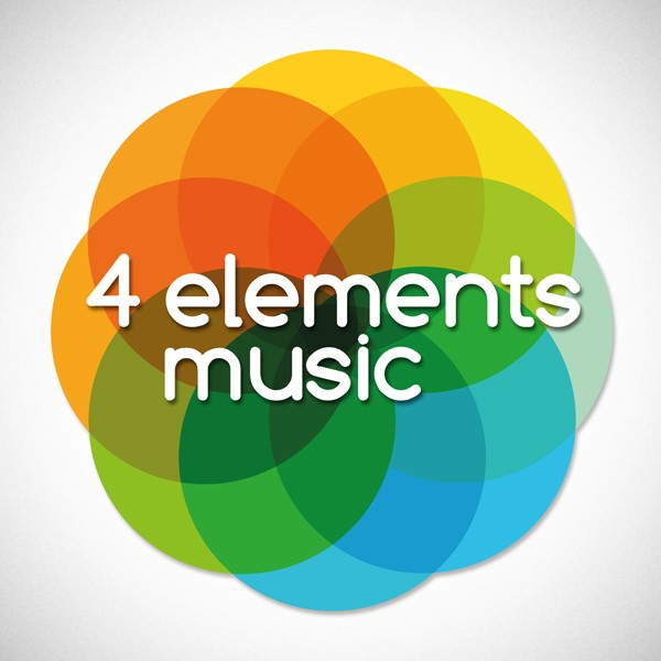 4 elements library logo